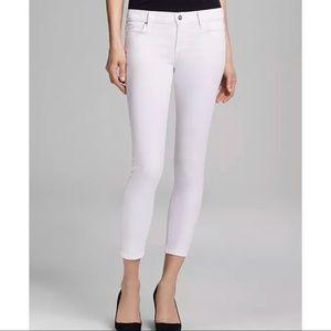 New COH Avedon Skinny Ankle Jeans White   Size 23